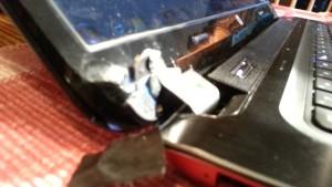 hp laptop hinge