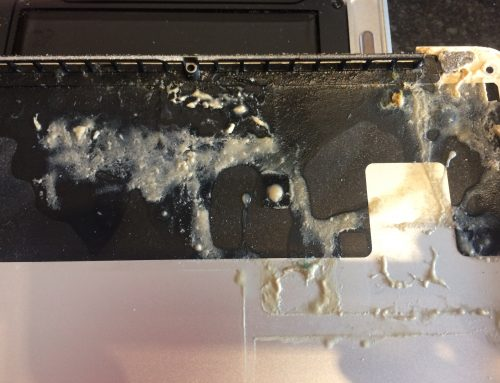 Liquid Damaged Laptop Repair Warrington